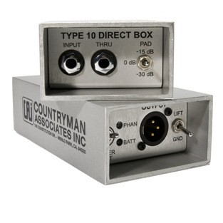 Direct Box Ativo Countryman - Type 10