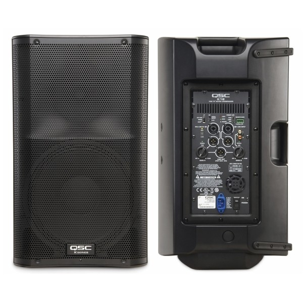 Caixa Amplificada QSC de 1000 Watts - K12