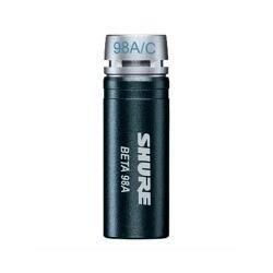 Microfone Miniatura Condensador Cardióide para Sopro e Percussão - Beta 98A/C