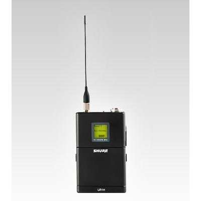 Transmissor de Corpo de Alta Shure Potência (body pack) - UR1H