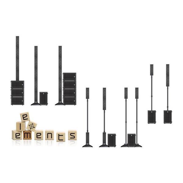 Base HK Audio Para As Caixas Da Linha Elements - Ef 45