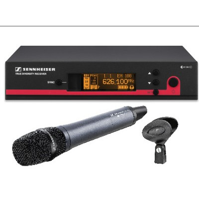 Microfone sem fio Sennheiser de mão - EW 135 G3