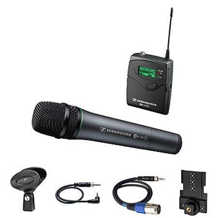 Sistema sem Fio Sennheiser Bastão de MD 835 Receptor portatil  para Camera - EW135P G3