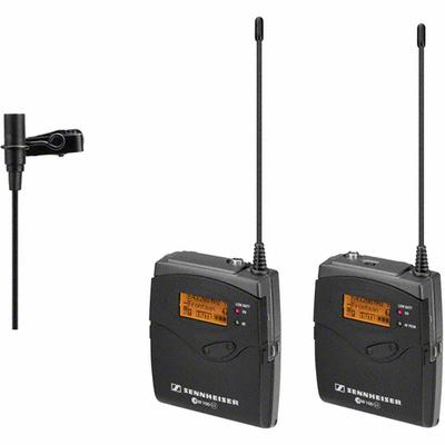 Sistema Sem Fio Sennheiser de Lapela Omini-direcional Para Camera - EW112P G3