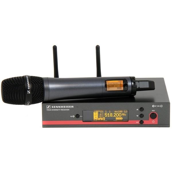 Sennheiser Microfone Sem Fio Bastão e865 Supercadioide UHF - EW165 G3