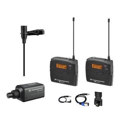 Sennheiser Sistema de Microfone Profissional Sem fio de Lapela Para Gravação em Video - EW100 ENG G3