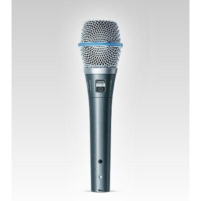Microfone Shure Supercardióide Para Vocal - Beta 87c