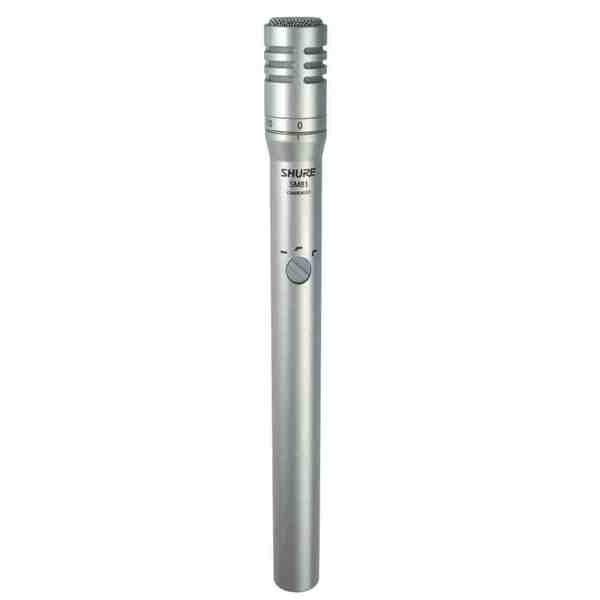 Microfone Condensador Shure Para Gravação E Ao Vivo Sm81-lc