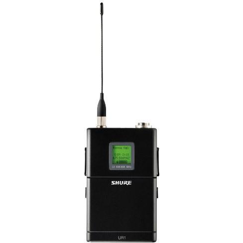 TRANSMISSOR DE COPRO (BODY PACK) COM 2400 FREQUÊNCIAS VARIÁVEIS EM UHF - UR1