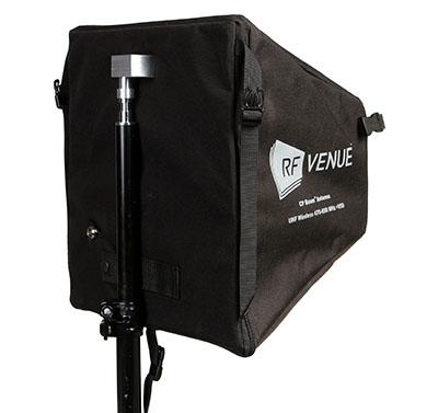 Antena RF VENUE Helicoidal passiva - CP BEAM