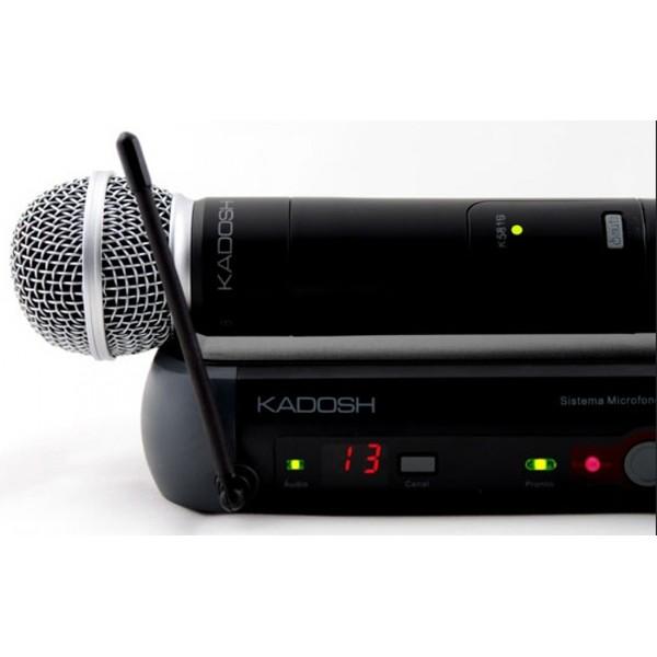 Microfone Sem Fio De Mão Kadosh UHF - K-581B