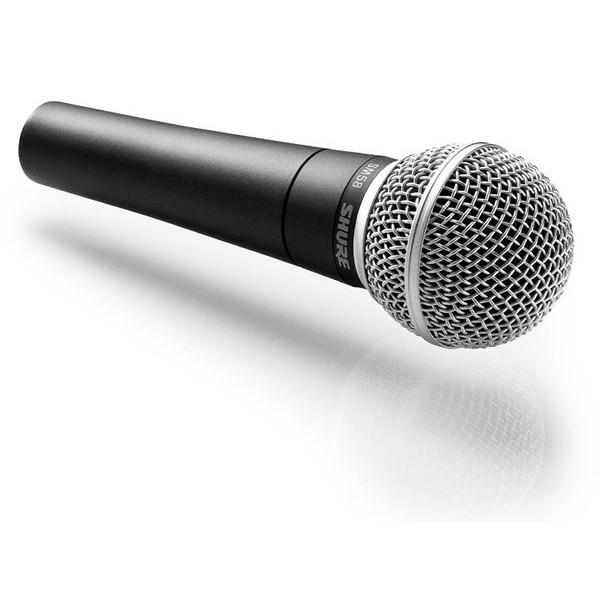 Microfone Dinâmico Shure Cardióide Para Vocal Sm58-LC