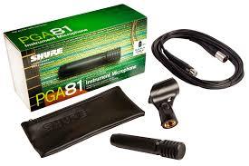Microfone Shure Instrumentos - PGA81