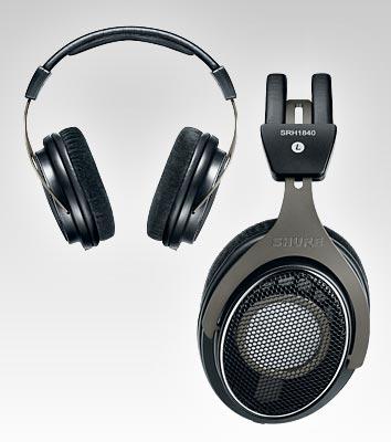 Fones de ouvido SHURE Aberto - SRH1840