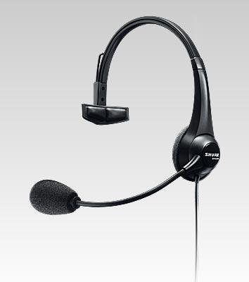 Fone com Microfone para BROADCAST Shure - BRH31M
