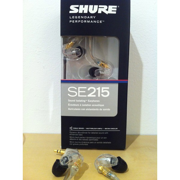 Fone de Ouvido Shure Para In Ear - SE215