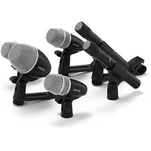 Kit Shure com 6 Microfones para bateria - PGDMK6-XLR