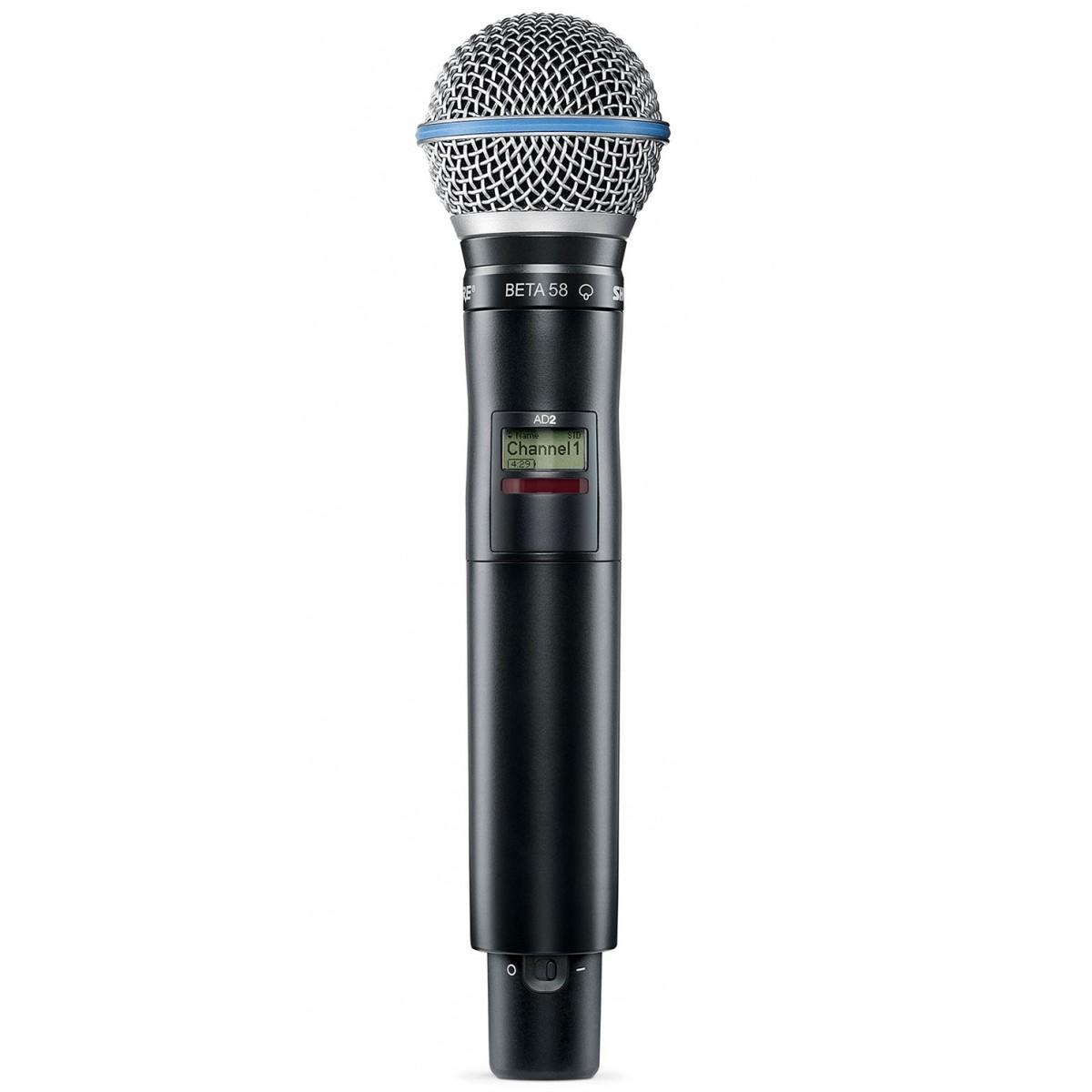 Axient Digital Shure Transmissor de microfone sem fio - AD2/B58