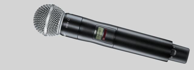 Axient Digital Shure Transmissor de microfone sem fio - AD2/SM58