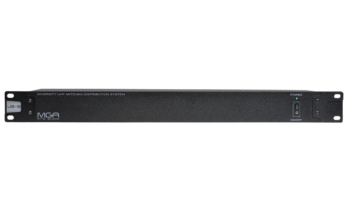 Distribuidor Ativo de RF para Sem fio 5 canais MGA - US5