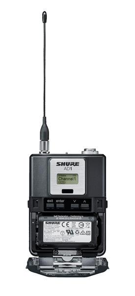 Novo Axient Digital Transmissor de Bodypack Shure - AD1