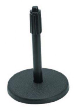 PEDESTAL DE MESA PARA MICROFONE ON-STAGE COM ALTURA AJUSTÁVEL PRETO DS7200B 23012