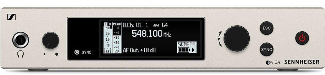 SISTEMA DE MICROFONE SENNHEISER SEM FIO BASTÃO SERI EW500 - EW500-945-G4