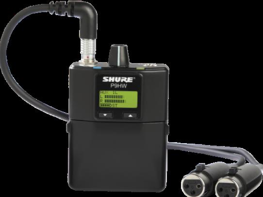 Sistema de Monitor De Ouvido IIN-EAR Shure Com Fio - P9HW