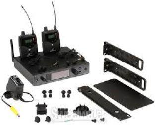 Sistema de monitoramento In Ear Duplo Sennheiser EW IEM G4 TWIN