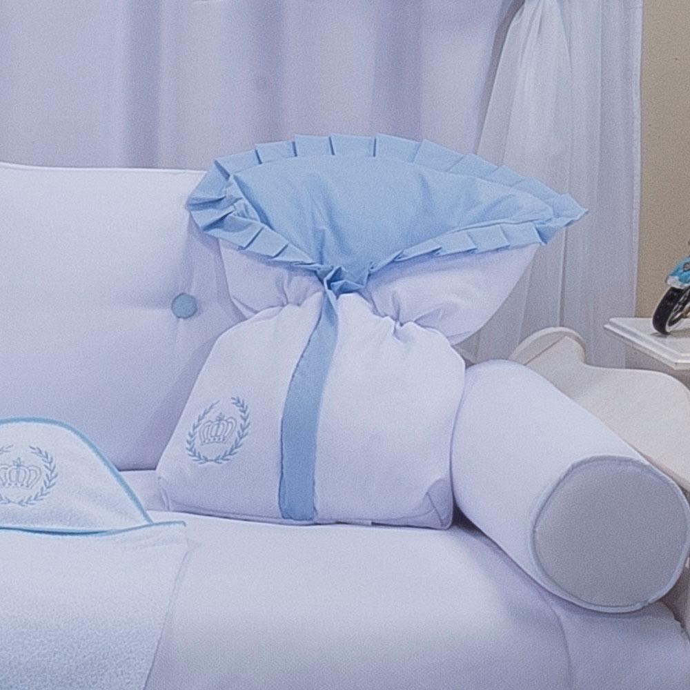 Saco de Bebê 100% Algodão Realeza Azul