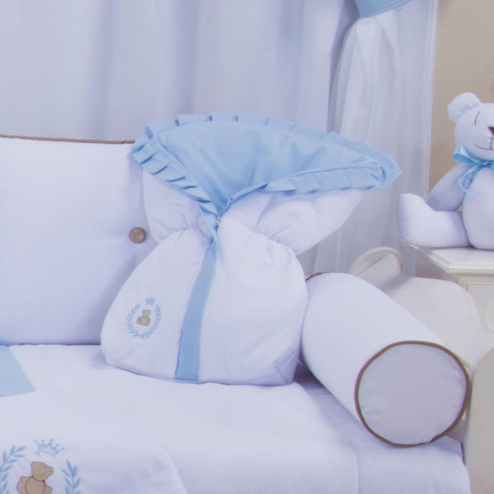 Saco de Bebê 100% Algodão Thed Azul