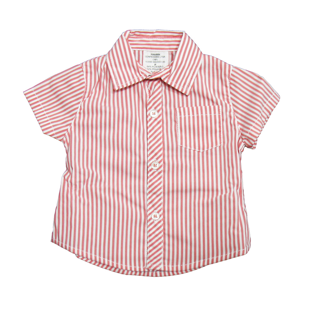Conjunto Ópera Kids com Camisa Listrada - 2 peças