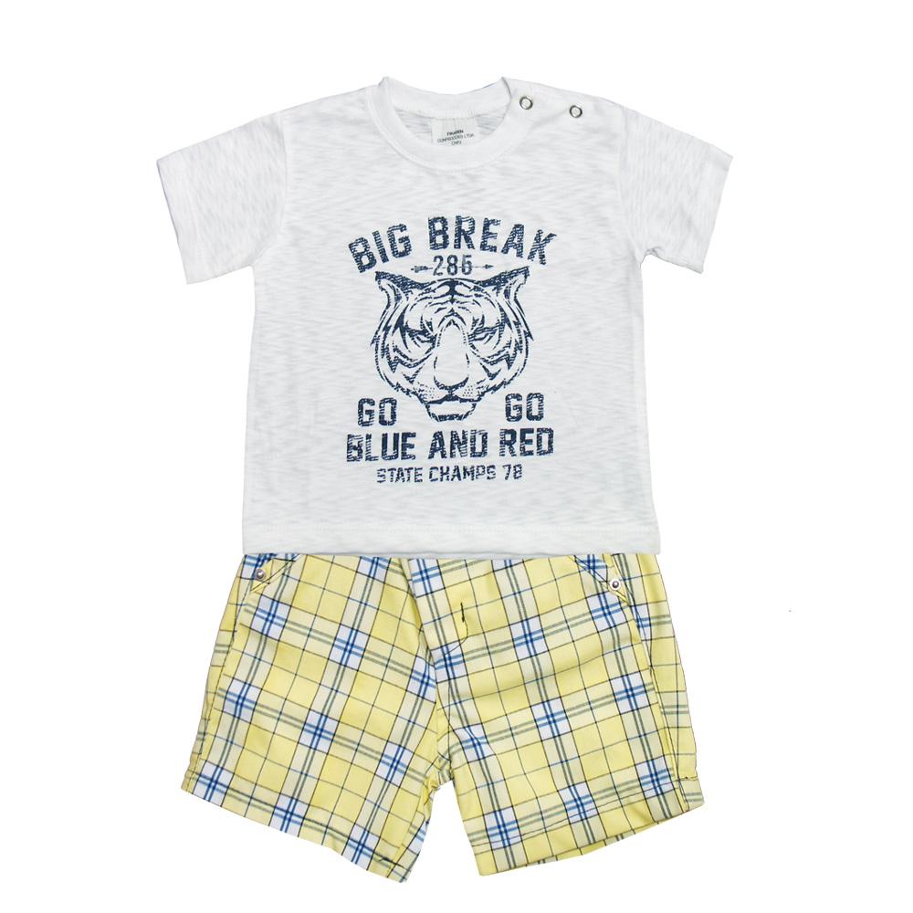 Conjunto Ópera Kids com Camisa  - 3 peças