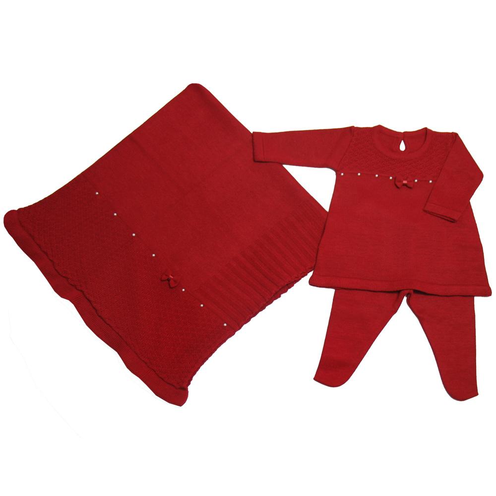 Enxoval Vestido Vermelho