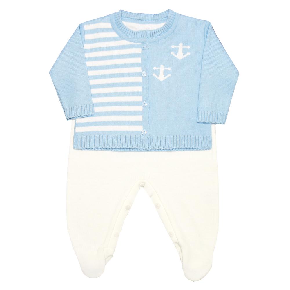 Enxoval Ancora Azul Bebê