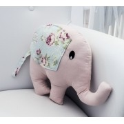 Almofada Elefante Ursa Realeza Floral