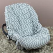 Capa de Bebê Conforto Adapt Chevron Tiffany