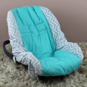Capa de Bebê Conforto Adapt - Chevron Tiffany