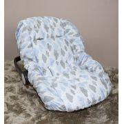 Capa de Bebê Conforto Adapt - Chuva de Benção Azul