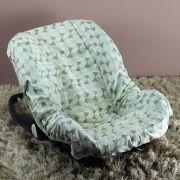 Capa de Bebê Conforto Adapt Losango Verde