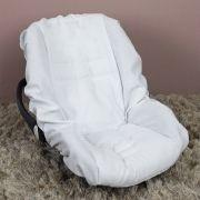 Capa de Bebê Conforto Adapt Piquet Branco