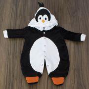 Macacão Preto Pinguim