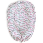 Ninho Redutor para Bebê - Chuva de Benção Rosa