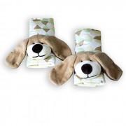 Protetor de Cinto - Cachorro Losango Verde