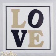 Quadro Decorativo Love Marinho