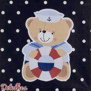 Quadro Decorativo Urso Marinheiro