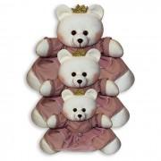 Trio de Ursinhas - Princesa Nude
