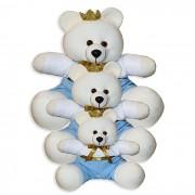 Trio de Ursinhos - Príncipe Azul