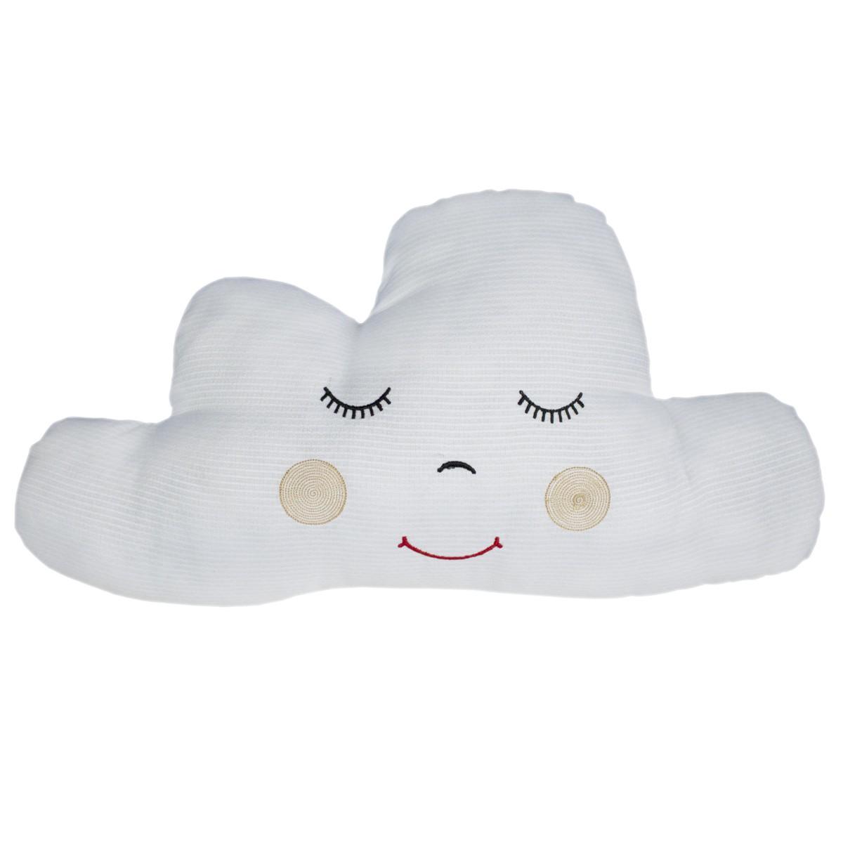 Almofada Nuvem Piquet Branca