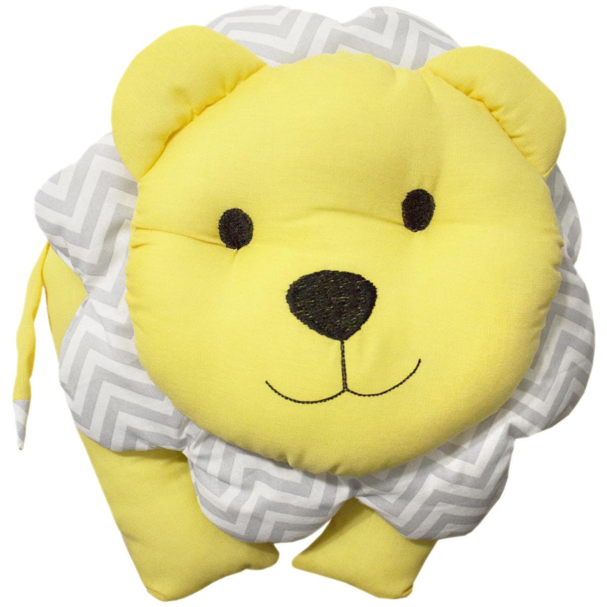 Enfeite Leão - Chevron Amarelo